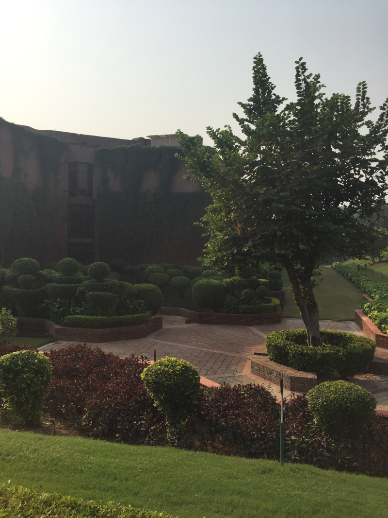 Grounds at ITC Mughal